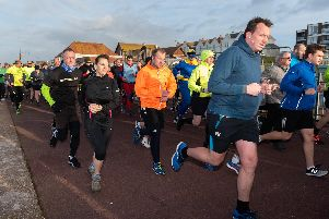Lee-on-the-Solent parkrun takes place on Saturdays at 9am and is free for everyone. Picture: Vernon Nash (090219-011)