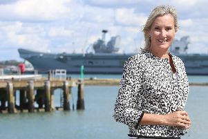 Gosport MP Caroline Dinenage. Photo: Habibur Rahman