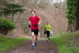 Tom Hoskinson had a strong run at Havant parkrun. Picture: Duncan Shepherd