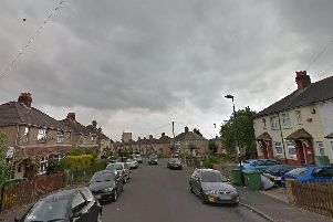 Bluebell Road, in Southampton, where a 17-year-old boy was shot in the legs and the ankles on February 18. Picture: Google Street View