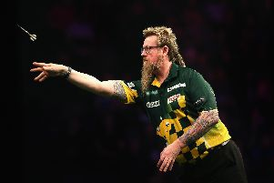 Simon Whitlock couldn't halt Richard North's charge. Picture: Alex Livesey/Getty Images