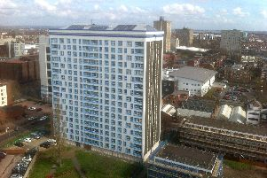 Horatia House and Leamington House in Somers Town are set to be torn down