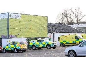 SSG UK Specialist Ambulance Service South in J Ten Trade Park, Wickham Road, Fareham'Picture: Sarah Standing (190219-1526)