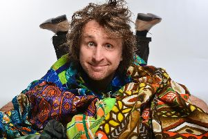 Milton Jones is headlining the Big Mouth Comedy Club at Portsmouth Guildhall on March 1. Picture by Steve Ullathorne