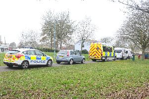 A police officer was stabbed at Stamshaw Park. Picture: Sarah Standing (220219-9931)