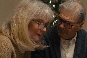 Blythe Danner as Ruth Keller and Robert Forster as Bert Keller from What They Had.