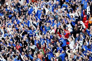 Pompey fans are going back to Wembley