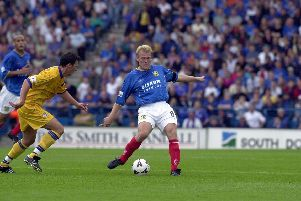 Robert Prosinecki played for Portsmouth in the 2001-02 season.