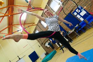 The Top Banana Circus will be putting on circus skill sessions for kids and adults until April 4.