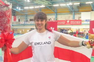 Serena Vincent won the international in Wales