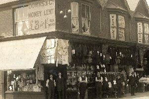 Downs & Co pawn shop was located at 157 to 161 Kingston Road. As well as exchanging goods for cash money was lent. Photo: Barry Cox.