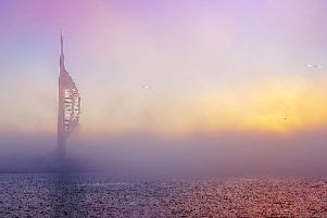 Spinnaker Tower in the Mist