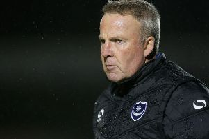 Where does Pompey's current manager rank when compared to the club's legendary managers?