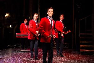 Jersey Boys will be at the Mayflower Theatre, Southampton, until March 30.