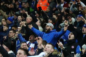 Wembley will witness 40,300 Pompey supporters on March 31 for the Checkatrade Trophy final. Picture: Joe Pepler