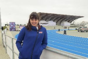 City of Portsmouth's Serena Vincent represented Great Britain in Samorin, Slovakia at the European Throwing Cup