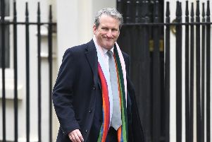 Education Secretary Damian Hinds arrives in Downing Street, London, for a cabinet meeting. PRESS ASSOCIATION Photo. Picture date: Tuesday March 19, 2019. Photo credit should read: Stefan Rousseau/PA Wire