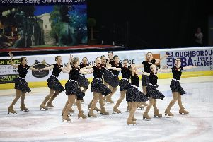 Gosport members perform a routine