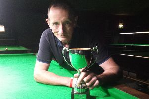 Portsmouth over-50s champion Colin Norton