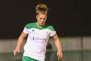 Molly Clark netted four goals in the win over C & K Basildon. Picture: Sheena Booker
