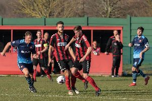 Fareham Town are now looking at getting into the top six. Picture: Vernon Nash