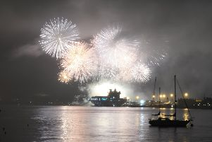 Naval fireworks March 2019
