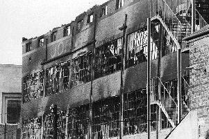 The fire which which caused the destruction of John Palmer's factory also killed two Portsmouth men and a 15-year old boy.
