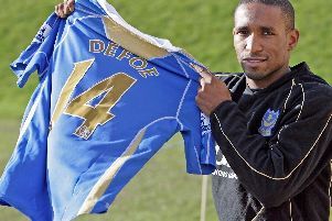 Jermain Defore played for Pompey in the Premier League