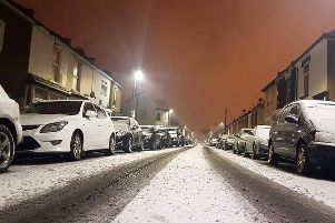 Snow in Portsmouth earlier this year. Picture: Zaini Kamarol Zaman