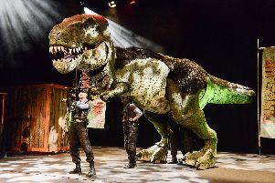 Dinosaur World Live will be at the New Theatre Royal.