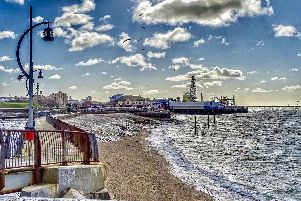 Southsea seafront view