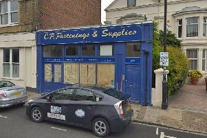 The former CP Fastenings and Supplies in Marmion Road, Southsea, which will be knocked down and become two houses'Picture: Google