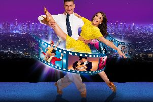 Aljaz Skorjanec and Janette Manrara are in Remembering the Movies, at Portsmouth Guildhall on April 14, 2019