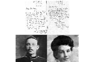 William Dean and his wife Harriet.