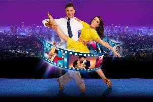 Aljaz Skorjanec and Janette Manrara are in Remembering the Movies at Portsmouth Guildhall.