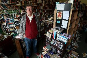 Robert Smith, the owner of Adelphi Books. Picture: Chris Moorhouse