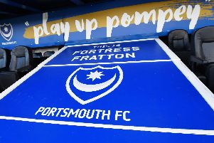 PORTSMOUTH, ENGLAND - JANUARY 30: A general view of the stadium prior to the Emirates FA Cup Fourth Round match between Portsmouth and AFC Bournemouth at Fratton Park on January 30, 2016 in Portsmouth, England.  (Photo by Mike Hewitt/Getty Images)