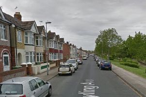 Hayling Avenue in Baffins. Picture: Google