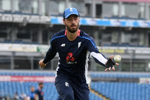 James Vince. Picture by Gareth Copley/Getty Images
