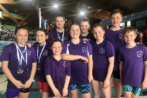 Locks Heath swimmers