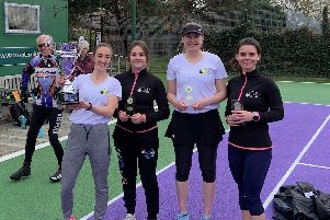 Lee ladies enjoyed Solent Cup glory