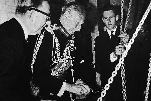 In 1966 Vice-Marshall Viscount Montgomery laid the D-Day Commemoration Stone in the nave of Portsmouth Cathedral.