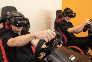 An example of driving simulator games