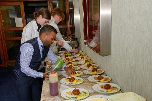 The Akash in Southsea served delegates from the University of Portsmouth in the Lord Mayor's parlour in Portsmouth