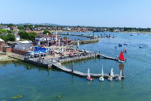 An exterior view of Emsworth Sailing Club