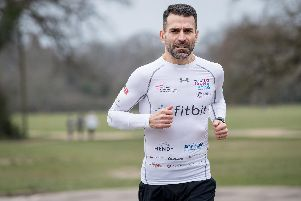 Francis Benali is aiming to complete seven Ironman endurance events in seven days.