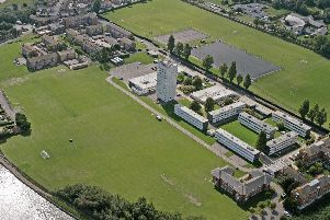 University of Portsmouth's Langstone campus. Picture: University of Portsmouth