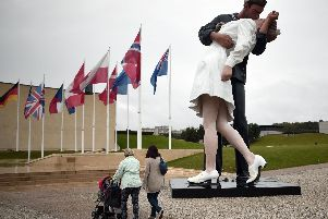 Unconditional Surrender in Caen in 2014 Picture: Damien Meyer/AFP/Getty Images