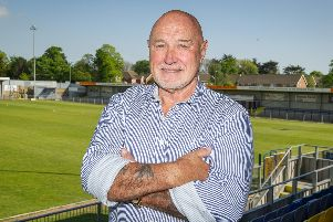 29/5/19''Story: Havant & Waterlooville Football Club (Hawks have announced their new manager, Paul Doswell.''Pictured: Chairman, Derek Pope   ''Picture: Habibur Rahman