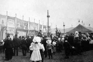 Buffalo Bill Codys wild west show  in Portsmouth, 1903. Picture: Barry Cox postcard collection